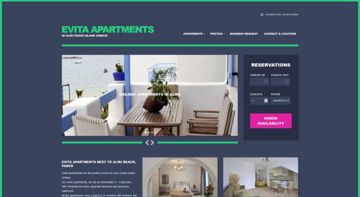 Evita Apartments Alyki Paros